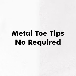 Metal Toe Tips no required