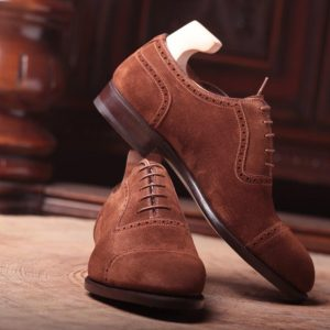 Principes Tan Suede