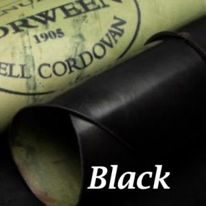 Black Shell Cordovan Handpainted Patina