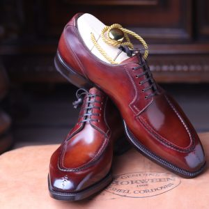 1 – AA Centurion shell cordovan splittoe derby handwelted,In Higher level finishing with lasted shoes tree included
