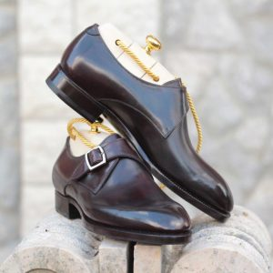french classic calf solid dark brown