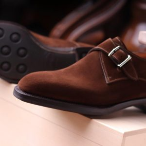 Janus suede  reverse calf in Brown