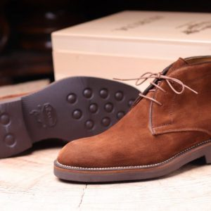 Tribune  3 ,Urbanae ,in  Snuff  suede and Gumlight Vibram sole,
