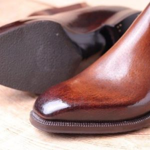10-11 mm thikness leather sole with haf sole .