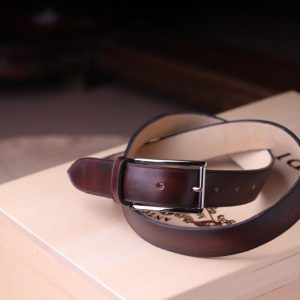 Belt Matching with the leather shoes color  ,made to measure( requires about 2 weeks)