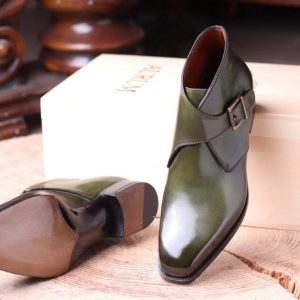 Seneca Chukka boot single monk Handwelted